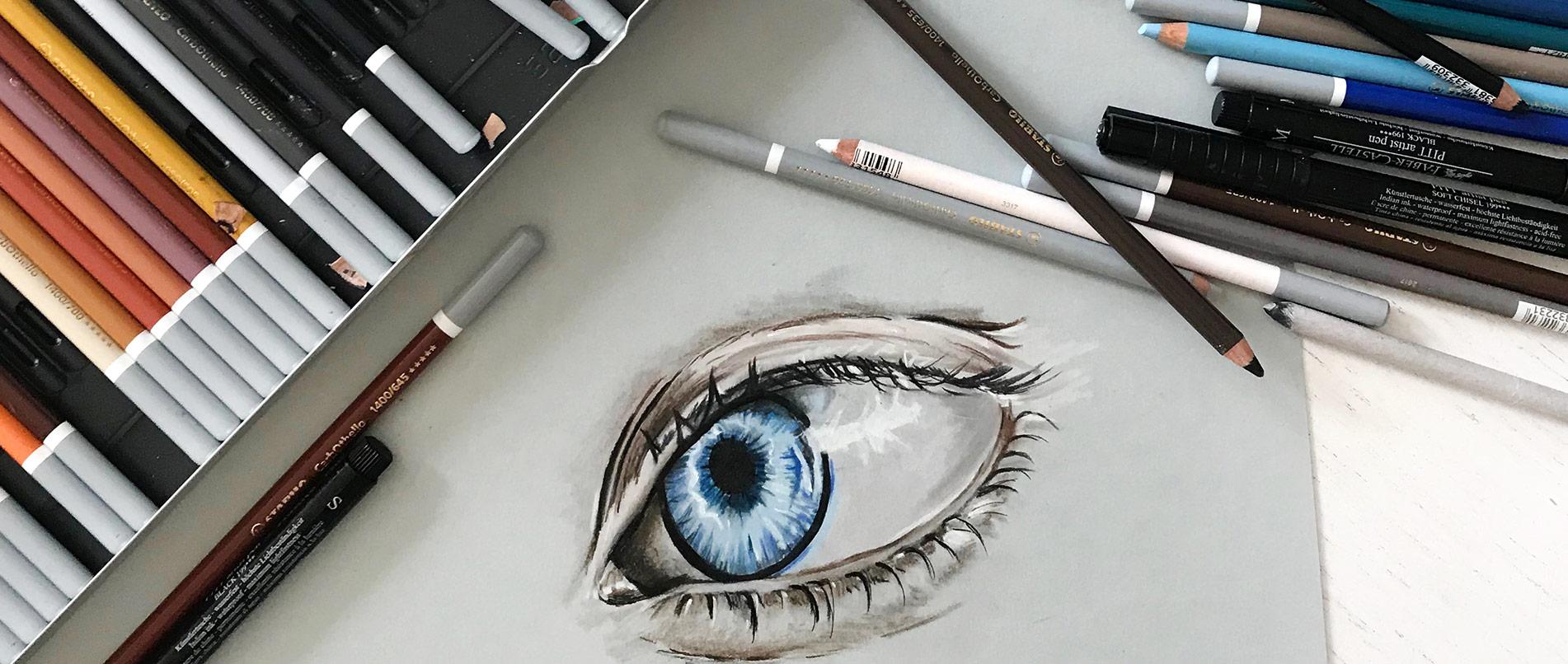 Zeichentechniken Portraitszeichnungen