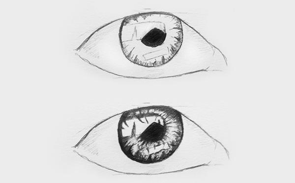 Schritt 3 Augenzeichnen lernen