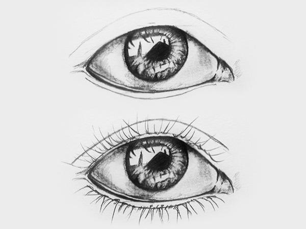 Schritt 4 Augenzeichnen lernen