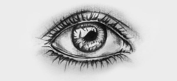 Augen Zeichnen Schritt Fur Schritt Als Bleistiftzeichnung
